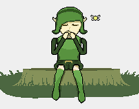 Saria's Song (Pixel Art Animation)