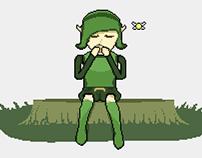 Saria's Song (Pixel Art Animation)