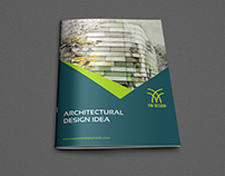 Abstract Architectural Design Brochure Template - 12 Pa