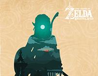 The Legend Of Zelda Breath Of Wild - Poster