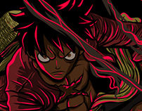 MONKEY D. LUFFY - GEAR SECOND