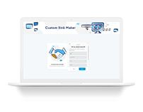 Custom Sink Maker App