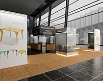 The concept of the exhibition furniture