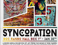 SYNCOPATION // Doc Rando Hall UNLV (Exhibit Flyer)