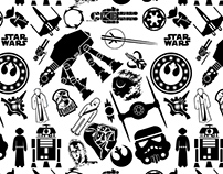 Star Wars Repeating pattern