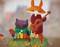 Музыканты (Лиса Алиса и кот Базилио). Musicians.