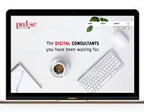 Pulse Digital Landing Page