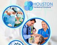 Houston InterMedical Consultants Branding