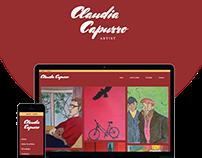 Claudia Capurro | Responsive web design and development