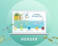 HERDER - children's bible web app