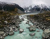 Trekking in New Zealand 2016