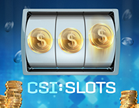 CSI:SLOTS - Game Artwork