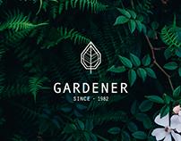THE GARDENER // Branding