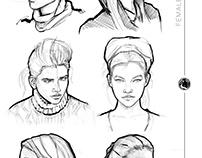 Barbara Palvin - Female Head Study #002