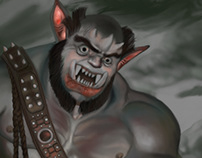 Ogre Character Illustration
