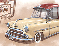 Chevrolet Styleline Deluxe (1951) - Starters Car Club