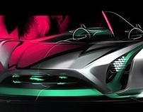 Jaguar Vision GT (WIP)