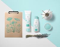 VITASTEM Cosmetics Branding Logo and Package Design