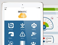 Dematic Mobile Monitor UI