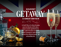 Visit Britain: Gourmet Getaway in Great Britain