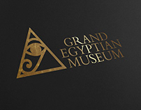 Grand Egyptian Museum - Identity Design