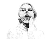 A touch of silk. Yury Fadeev©