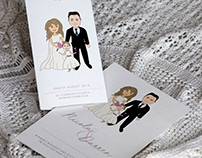 Wedding Invitation & Ceremony Booklet