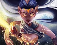 League of Legends Painting Vayne