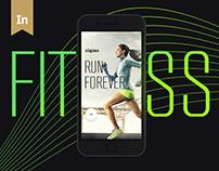 Zigmo Fitness app - UI / UX