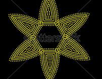 stock-vector-dot-star-99942575