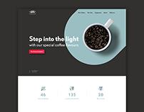 Jack Smith Coffee Shop UI/UX Design