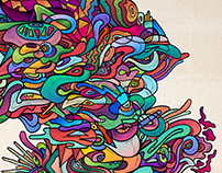 New Abstract Illustration and Poster