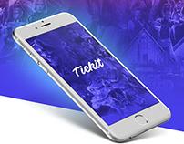 Tickit App | UX/UI Design
