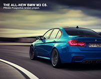 BMW M3 CS - Prospective project 2017