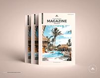 Free Modern Magazine Mockup