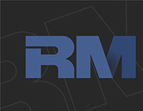 Logo criada para RM Construções