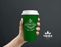Design logo Thanh Thai Milk&tea