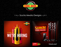 Cook Door Social Media Designs