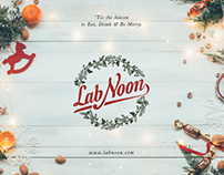 Lab Noon Christmas Events, Concept Design