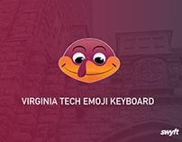 Virginia Tech Emoji Keyboard