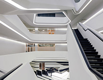 Dominion Tower by Zaha Hadid, Moscow