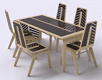Arroway Bamboo Dining Furniture