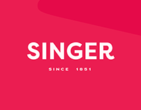Singer Website Redesign