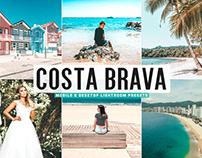 Free Costa Brava Mobile & Desktop Lightroom Presets