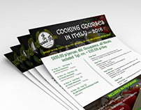 Cooking Course Flyer