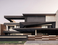 Carbonado Residence 1 in India by 23DC Architects