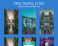 FREEBIE - TRAVEL UI KIT