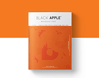 Black Apple #5 — editorial design