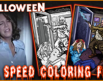 Dr. Loomis Saves the Day - Speed Coloring Fun!