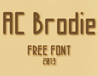 AC Brodie (Free Font)